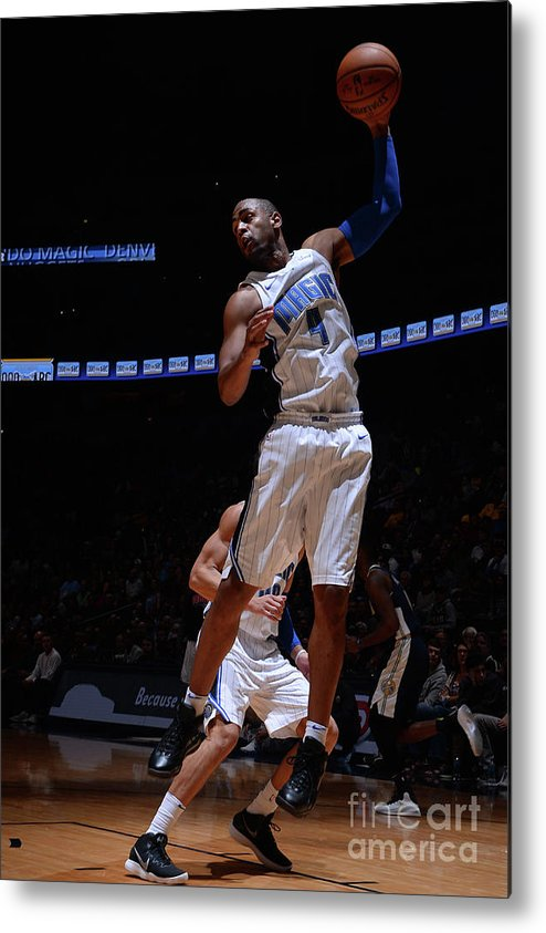 Nba Pro Basketball Metal Print featuring the photograph Arron Afflalo by Bart Young