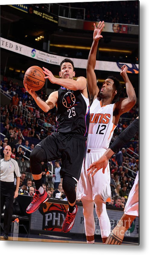 Nba Pro Basketball Metal Print featuring the photograph Austin Rivers by Barry Gossage