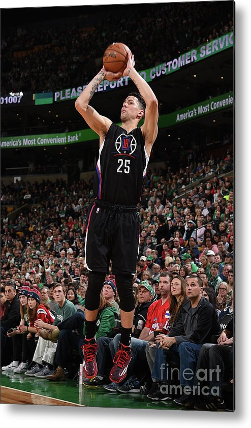 Nba Pro Basketball Metal Print featuring the photograph Austin Rivers by Brian Babineau