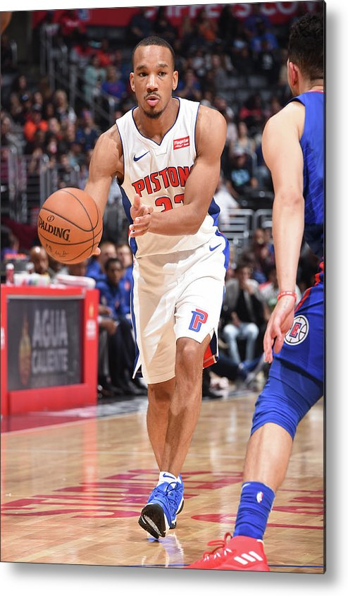 Nba Pro Basketball Metal Print featuring the photograph Avery Bradley by Andrew D. Bernstein
