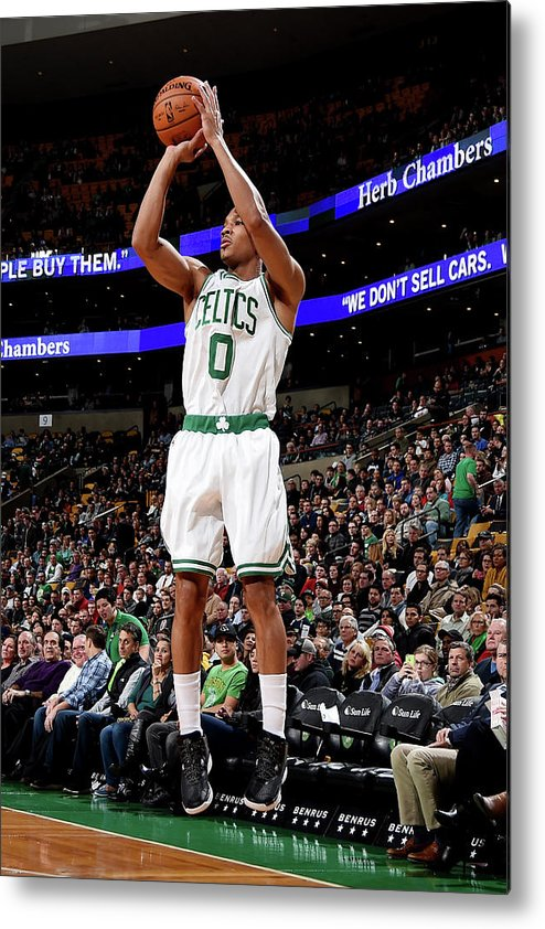 Nba Pro Basketball Metal Print featuring the photograph Avery Bradley by Brian Babineau