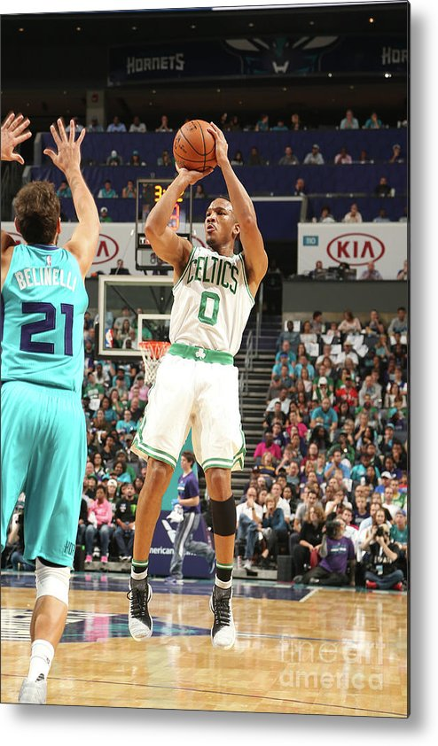 Nba Pro Basketball Metal Print featuring the photograph Avery Bradley by Kent Smith