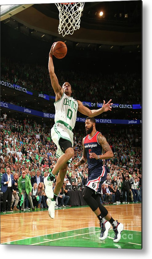 Playoffs Metal Print featuring the photograph Avery Bradley by Ned Dishman