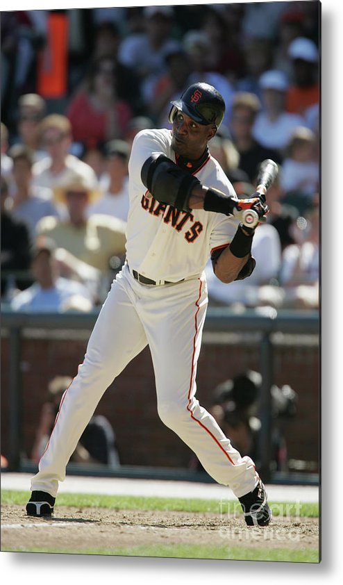 San Francisco Metal Print featuring the photograph Barry Bonds by Brad Mangin