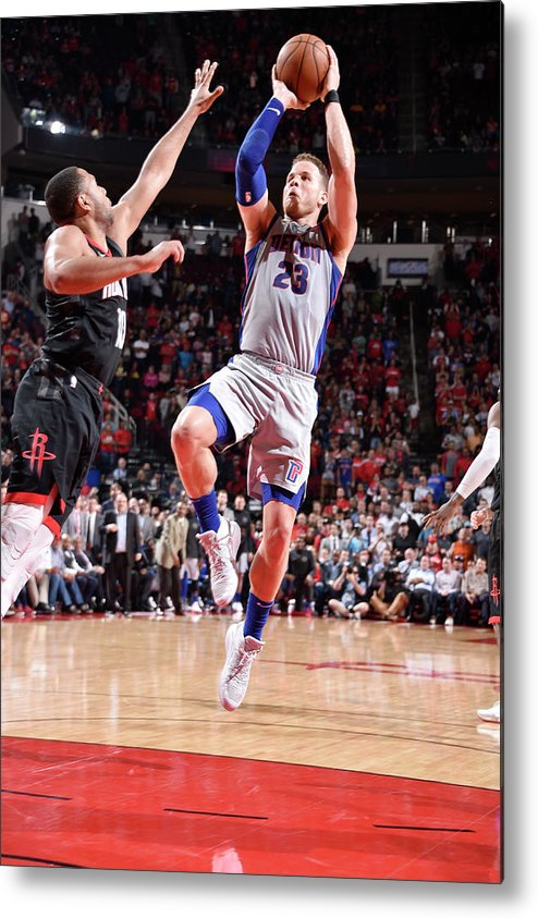 Sports Ball Metal Print featuring the photograph Blake Griffin by Bill Baptist