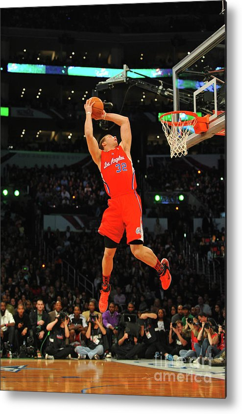 Nba Pro Basketball Metal Print featuring the photograph Blake Griffin by Jesse D. Garrabrant