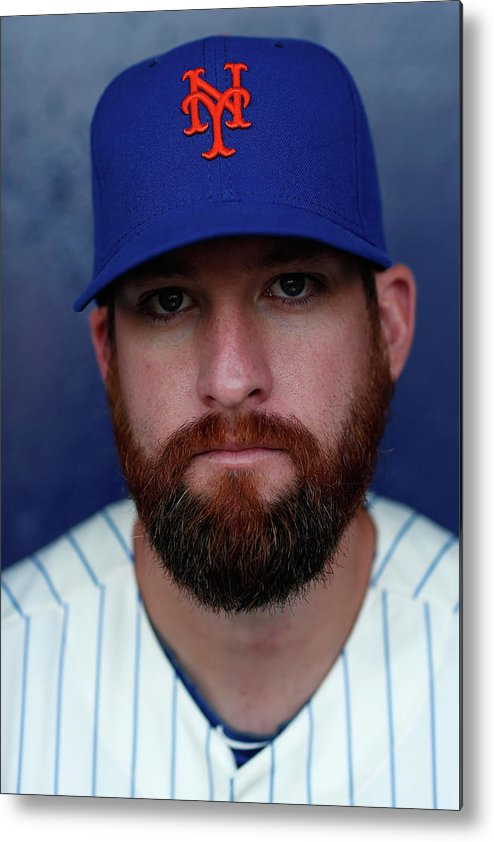 Media Day Metal Print featuring the photograph Bobby Parnell by Chris Trotman