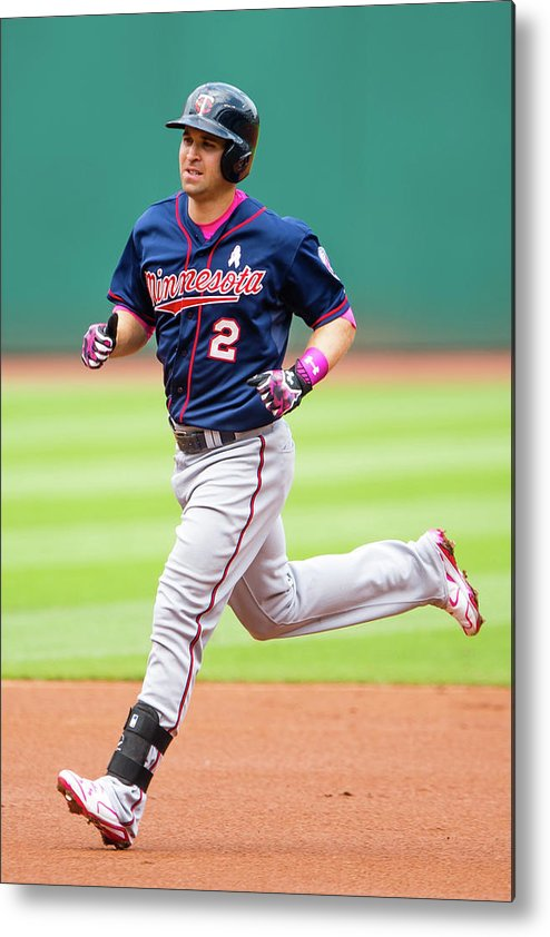 People Metal Print featuring the photograph Brian Dozier by Jason Miller
