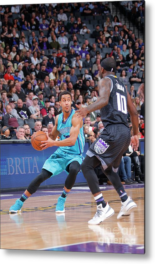 Nba Pro Basketball Metal Print featuring the photograph Brian Roberts by Rocky Widner