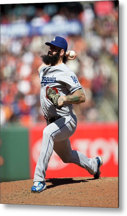 San Francisco Metal Print featuring the photograph Brian Wilson by Jason O. Watson