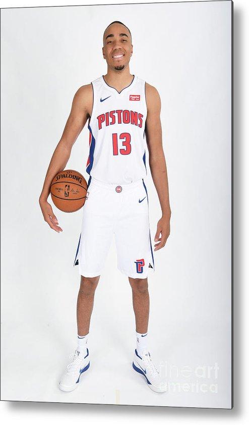 Nba Pro Basketball Metal Print featuring the photograph Brice Johnson by Chris Schwegler