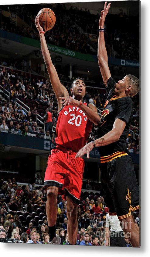 Nba Pro Basketball Metal Print featuring the photograph Bruno Caboclo by David Liam Kyle
