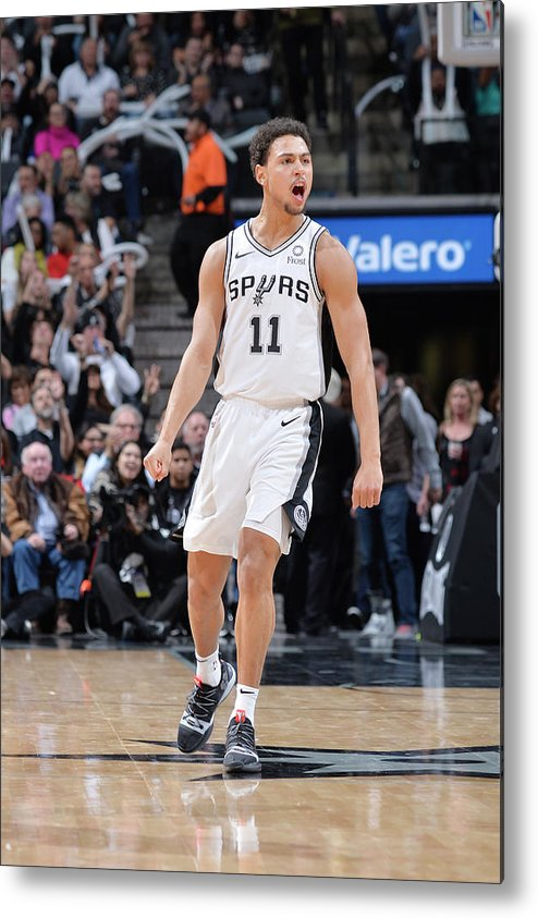 Nba Pro Basketball Metal Print featuring the photograph Bryn Forbes by Mark Sobhani