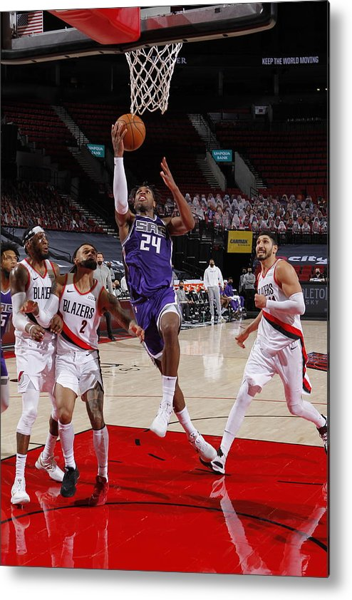 Nba Pro Basketball Metal Print featuring the photograph Buddy Hield by Cameron Browne