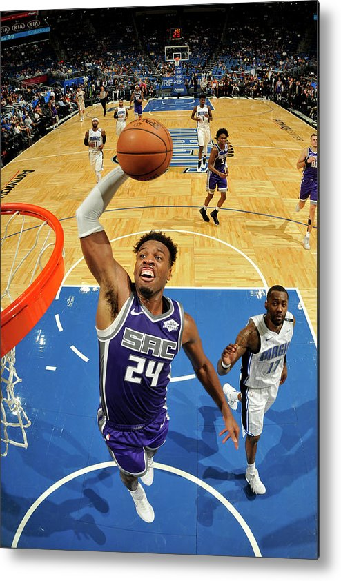 Nba Pro Basketball Metal Print featuring the photograph Buddy Hield by Fernando Medina