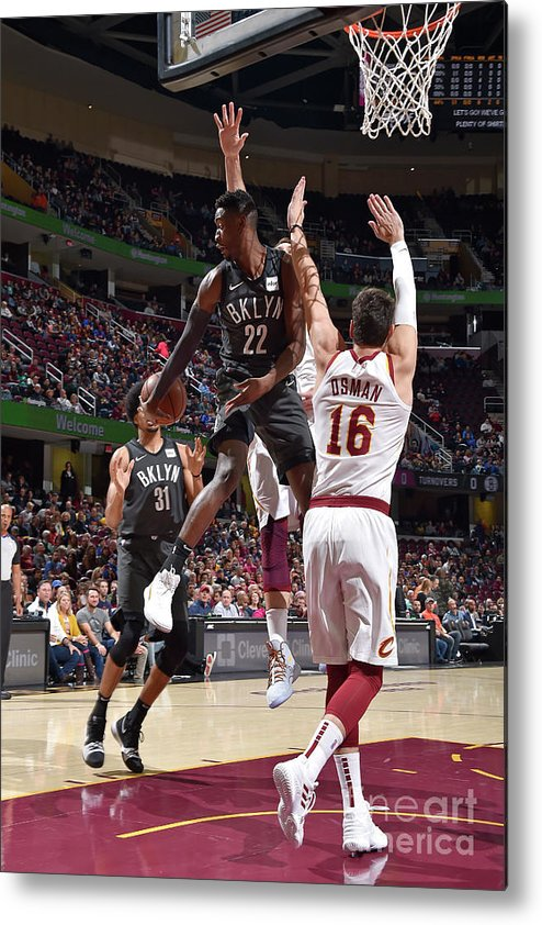 Nba Pro Basketball Metal Print featuring the photograph Caris Levert by David Liam Kyle