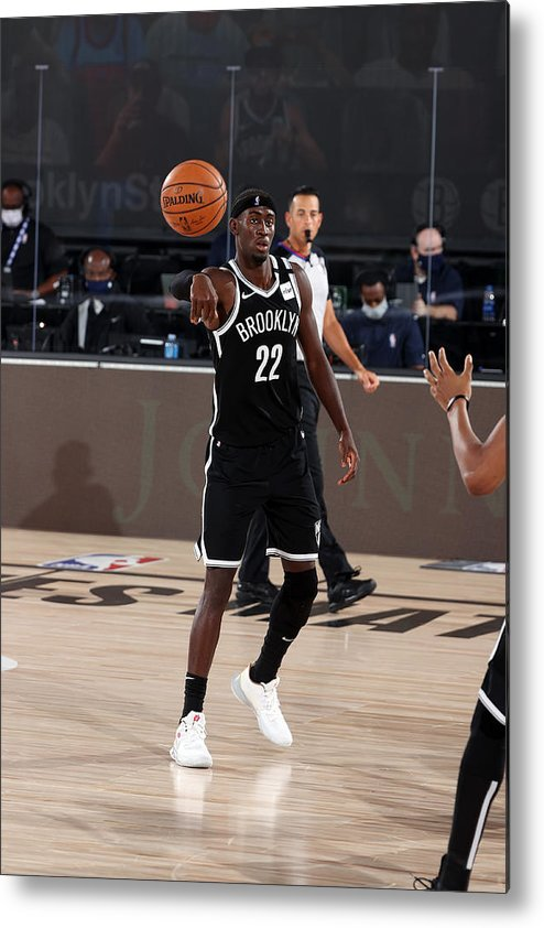 Nba Pro Basketball Metal Print featuring the photograph Caris Levert by David Sherman