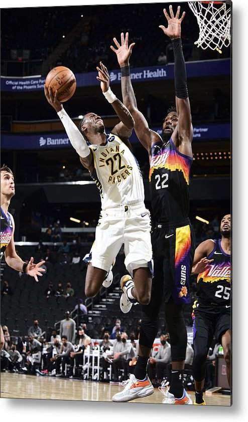 Nba Pro Basketball Metal Print featuring the photograph Caris Levert by Michael Gonzales