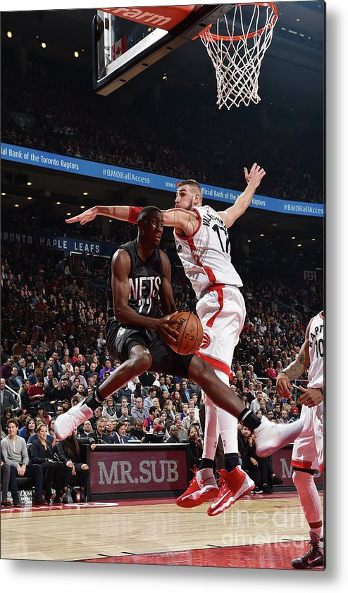 Nba Pro Basketball Metal Print featuring the photograph Caris Levert by Ron Turenne