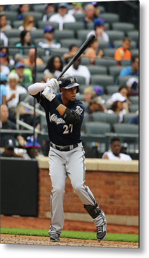 People Metal Print featuring the photograph Carlos Gomez by Al Bello