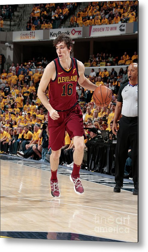 Playoffs Metal Print featuring the photograph Cedi Osman by Ron Hoskins