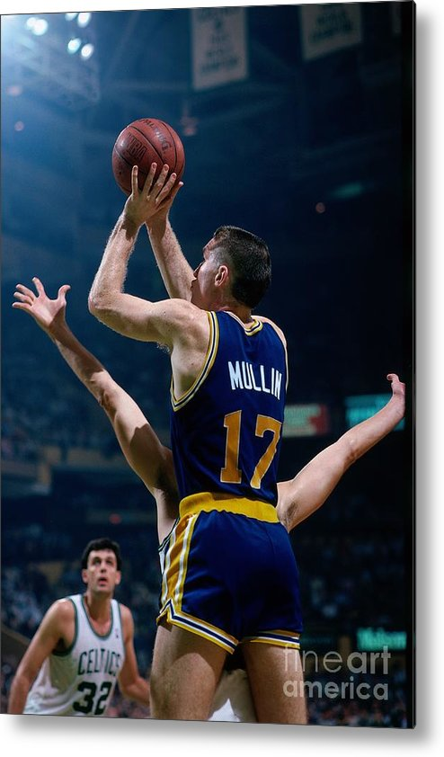 1980-1989 Metal Print featuring the photograph Chris Mullin by Dick Raphael