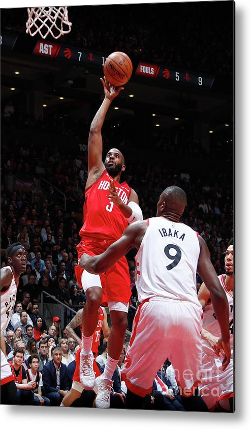 Nba Pro Basketball Metal Print featuring the photograph Chris Paul by Mark Blinch