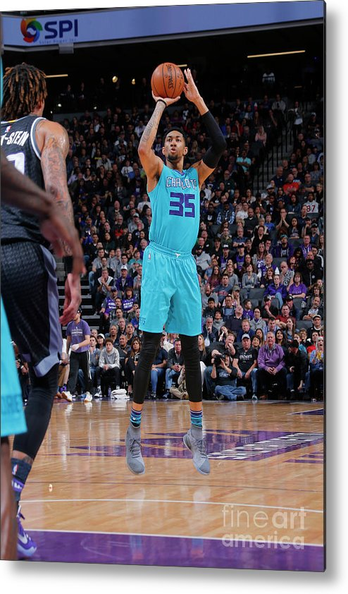 Nba Pro Basketball Metal Print featuring the photograph Christian Wood by Rocky Widner