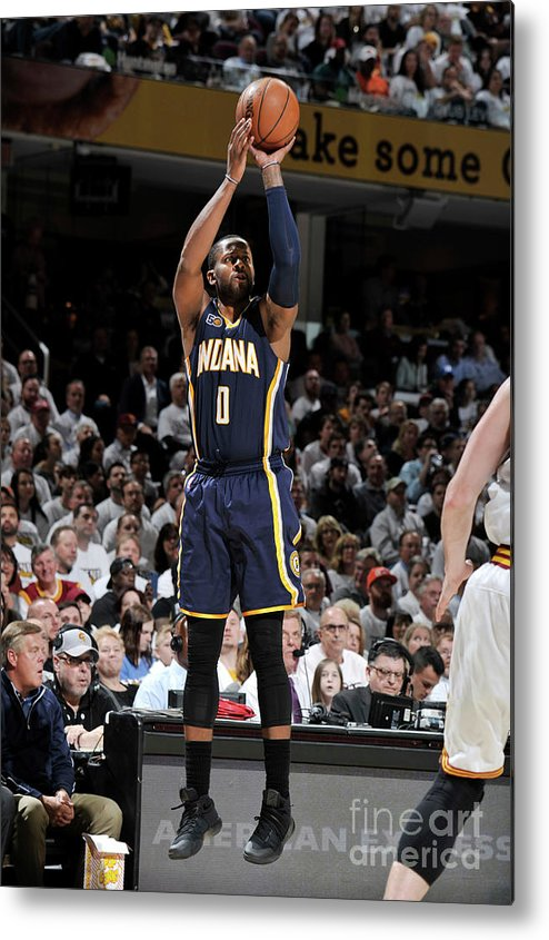 Playoffs Metal Print featuring the photograph C.j. Miles by David Liam Kyle
