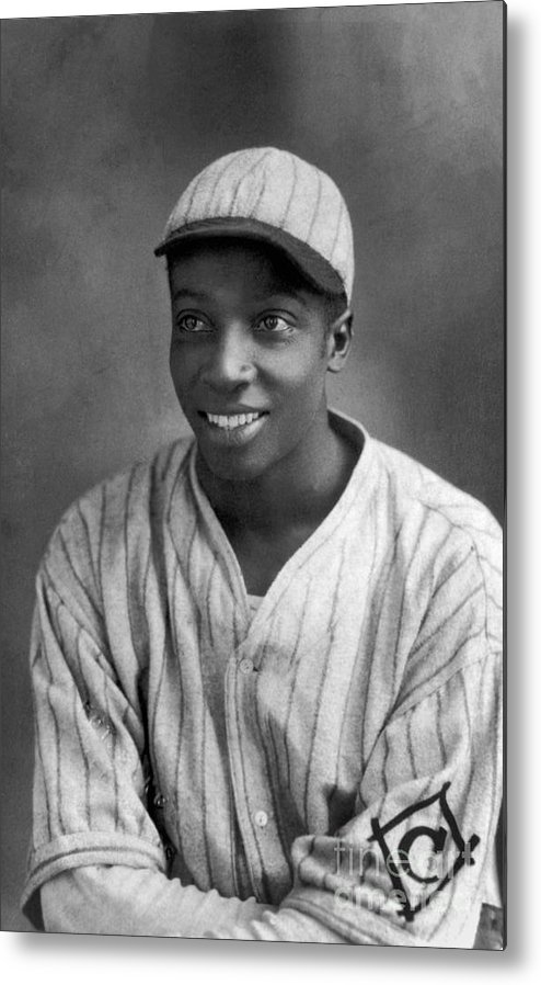 Cool Papa Bell Metal Print featuring the photograph Cool Papa Bell by National Baseball Hall Of Fame Library