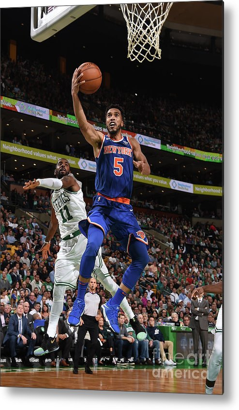 Nba Pro Basketball Metal Print featuring the photograph Courtney Lee by Brian Babineau