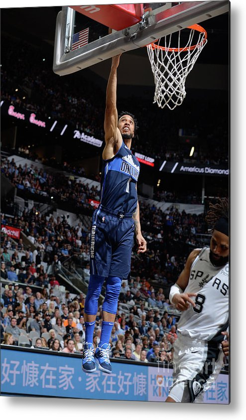Nba Pro Basketball Metal Print featuring the photograph Courtney Lee by Mark Sobhani