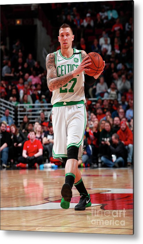 Nba Pro Basketball Metal Print featuring the photograph Daniel Theis by Jeff Haynes