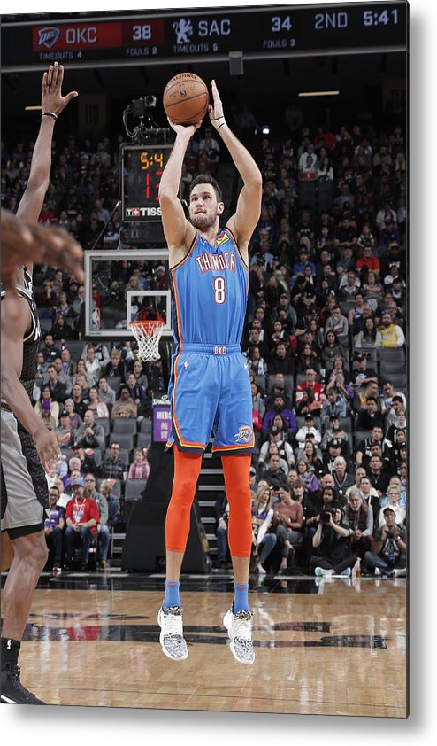 Danilo Gallinari Metal Print featuring the photograph Danilo Gallinari by Rocky Widner
