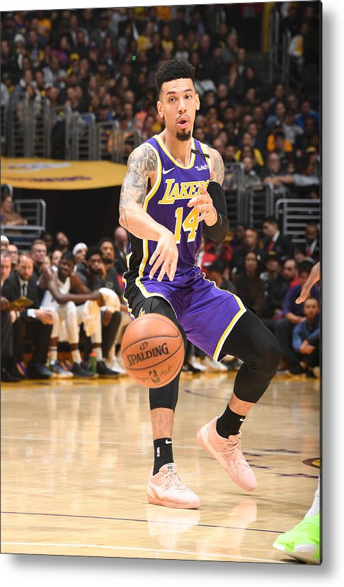 Nba Pro Basketball Metal Print featuring the photograph Danny Green by Andrew D. Bernstein