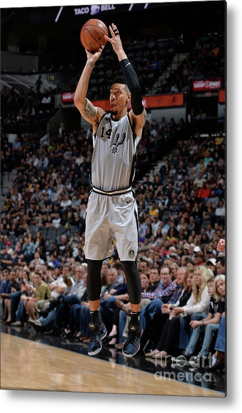 Nba Pro Basketball Metal Print featuring the photograph Danny Green by Mark Sobhani