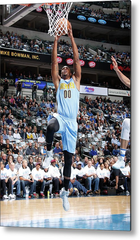 Nba Pro Basketball Metal Print featuring the photograph Darrell Arthur by Danny Bollinger