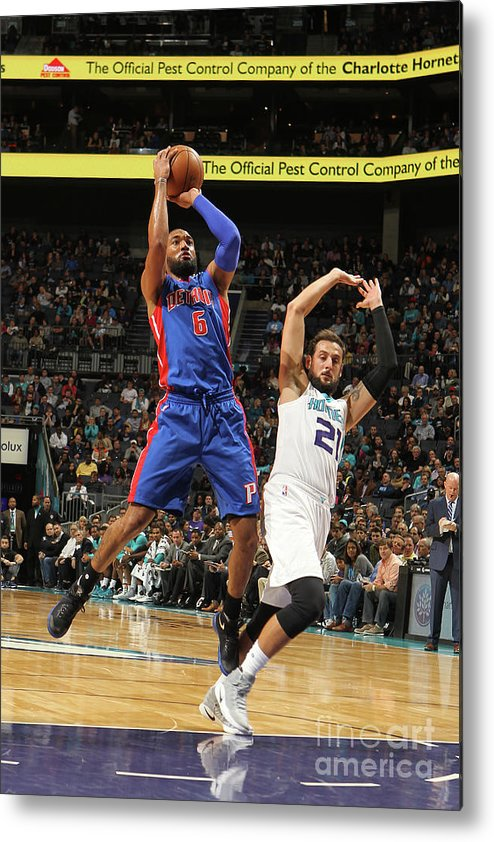Nba Pro Basketball Metal Print featuring the photograph Darrun Hilliard by Brock Williams-smith