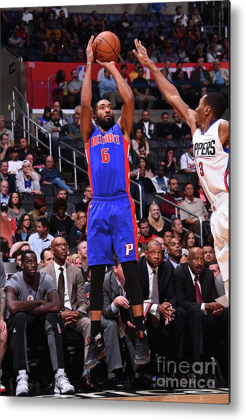 Nba Pro Basketball Metal Print featuring the photograph Darrun Hilliard by Juan Ocampo