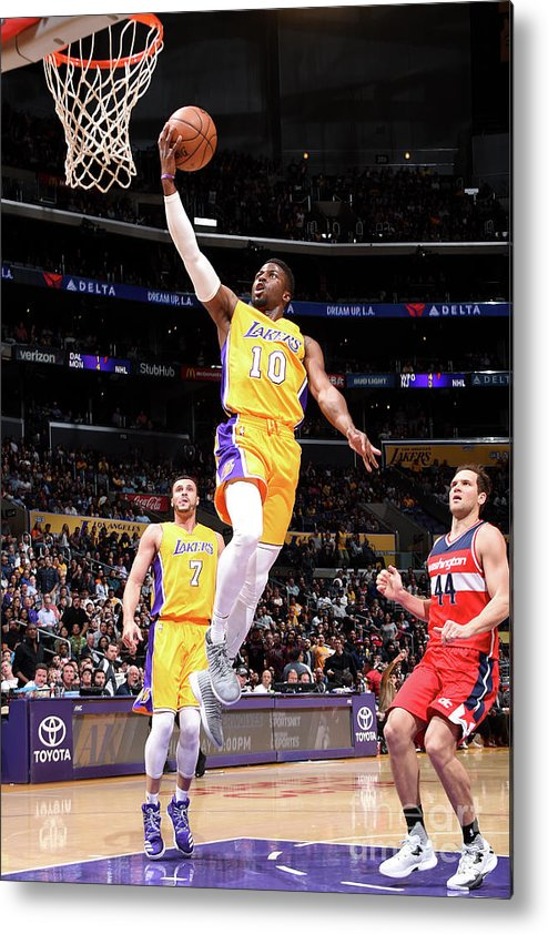 Nba Pro Basketball Metal Print featuring the photograph David Nwaba by Andrew D. Bernstein