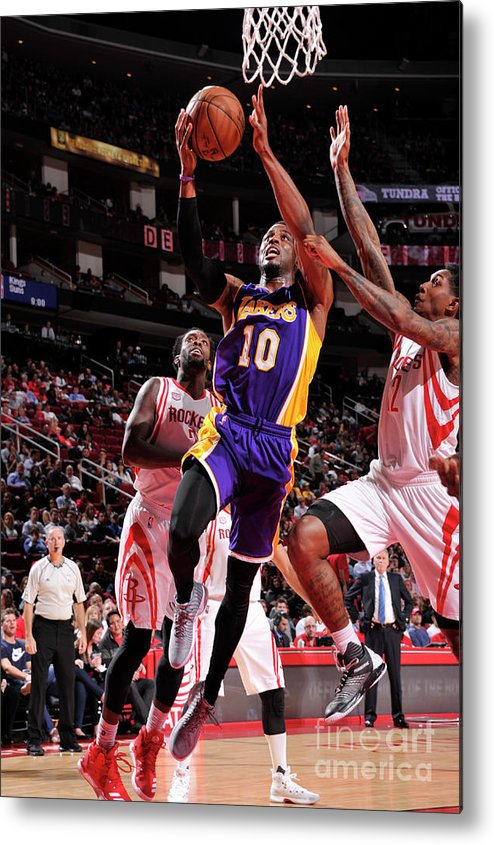 Nba Pro Basketball Metal Print featuring the photograph David Nwaba by Bill Baptist