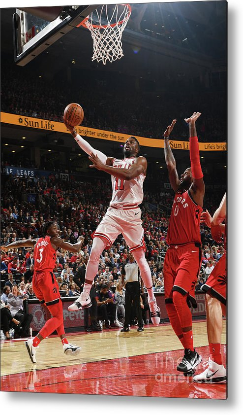 Nba Pro Basketball Metal Print featuring the photograph David Nwaba by Ron Turenne