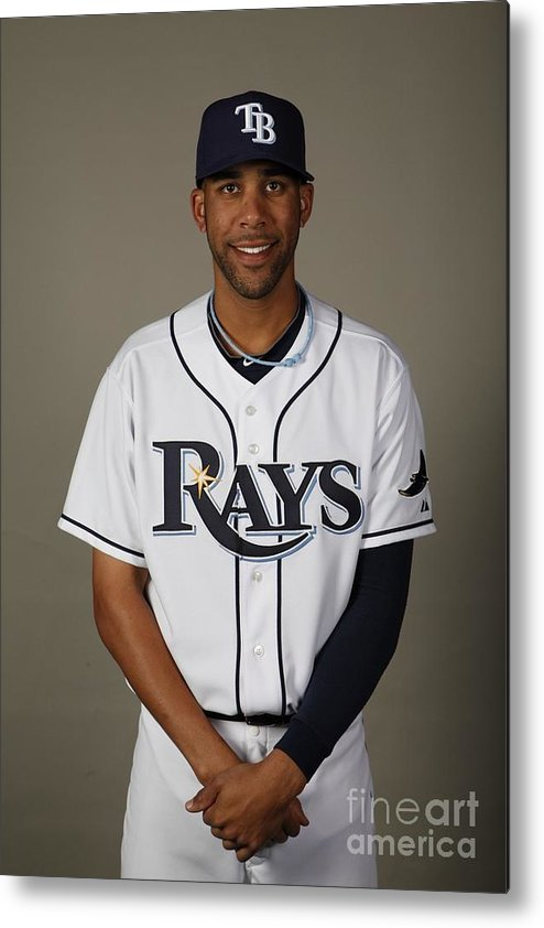 Media Day Metal Print featuring the photograph David Price by Robert Rogers