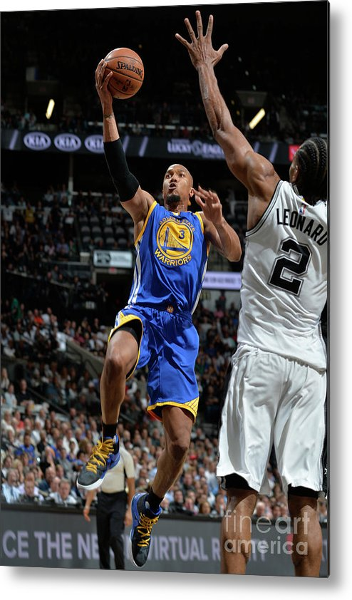 Nba Pro Basketball Metal Print featuring the photograph David West by Mark Sobhani