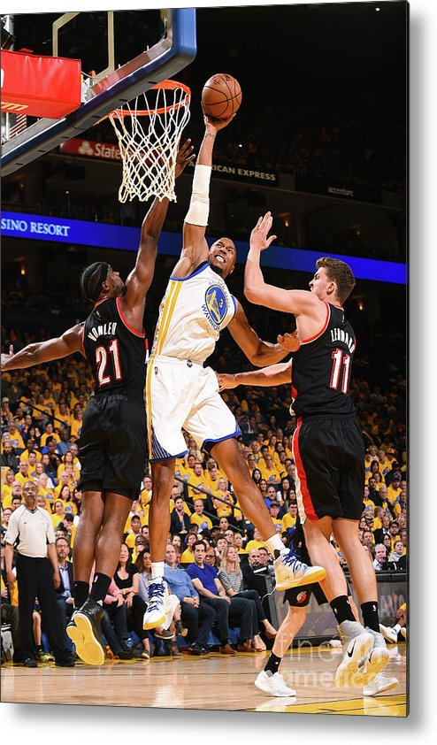 Playoffs Metal Print featuring the photograph David West by Noah Graham