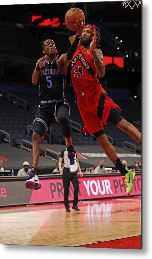 Nba Pro Basketball Metal Print featuring the photograph De'aaron Fox by Scott Audette