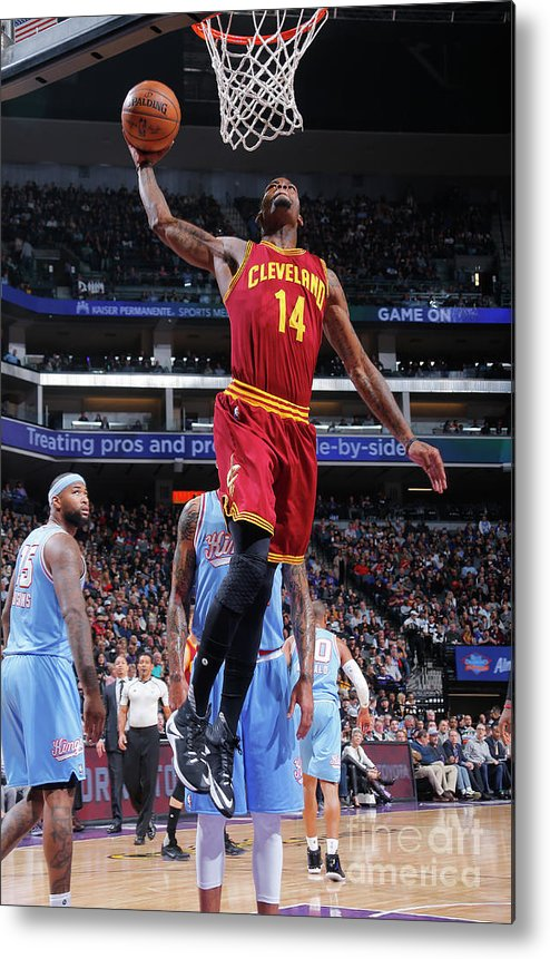 Nba Pro Basketball Metal Print featuring the photograph Deandre Liggins by Rocky Widner