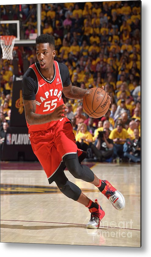 Playoffs Metal Print featuring the photograph Delon Wright by David Liam Kyle
