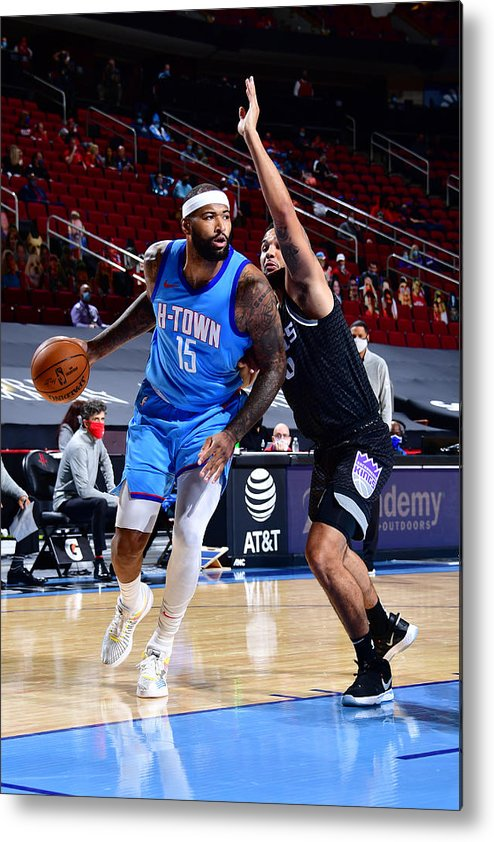 Nba Pro Basketball Metal Print featuring the photograph Demarcus Cousins by Cato Cataldo