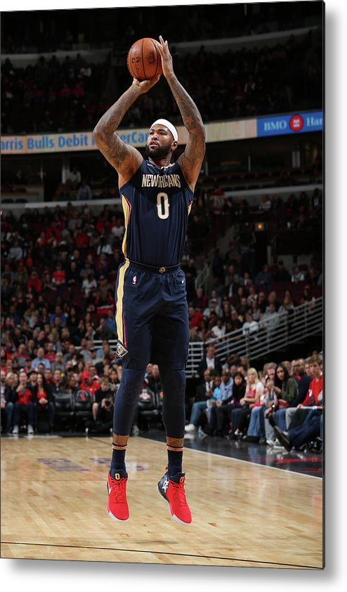 Nba Pro Basketball Metal Print featuring the photograph Demarcus Cousins by Gary Dineen